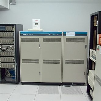 VAX - DEC VAX 11/780-5 computer.