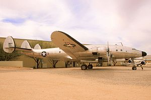 Lockheed C-121 Constellation - VC-121A 48-0614 Columbine, the personal transport of General Dwight D. Eisenhower, on display at the Pima Air & Space Museum