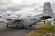 VH-MQD CASA C-212-CC Aviocar Military Support Services (9061747694)