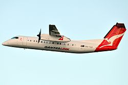 De Havilland DHC-8-300 der Eastern Australia Airlines