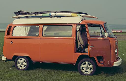 VW Camper Van - Flickr - john.purvis