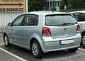 VW Polo IV 1.4 TDI BlueMotion Facelift rear 20100829.jpg