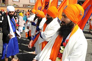 Khalsa - Vaisakhi festival of Sikhs honors the Khalsa tradition every year.