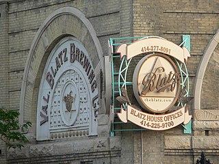 Valentin Blatz Brewing Company United States historic place