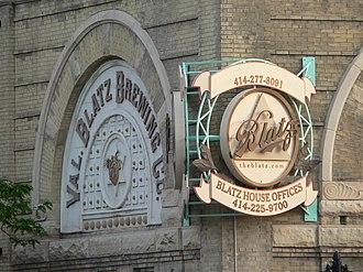 Cream City brick - Image: Valentin Blatz Brewing Company