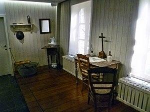 Maison Van Gogh - Interior of the museum in 2015