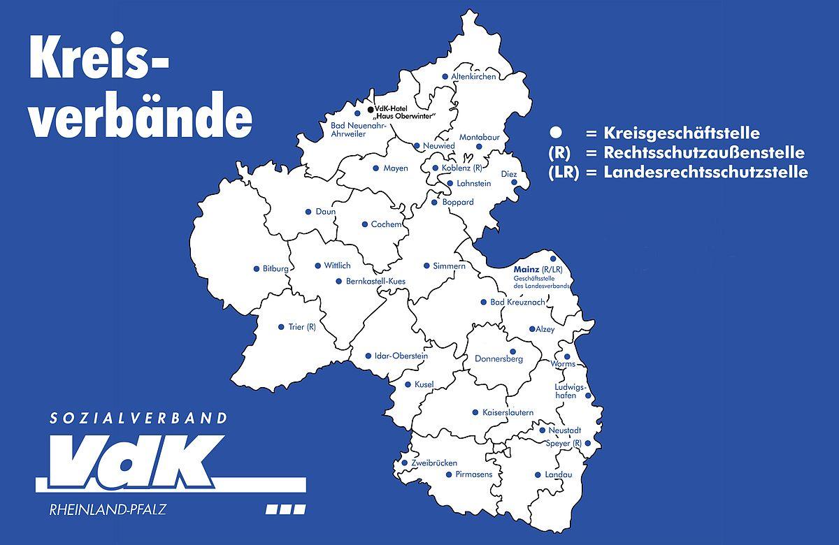 Sozialverband Vdk Rheinland Pfalz Wikipedia