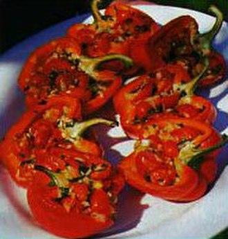 Stuffed peppers - Vegetarian stuffed peppers