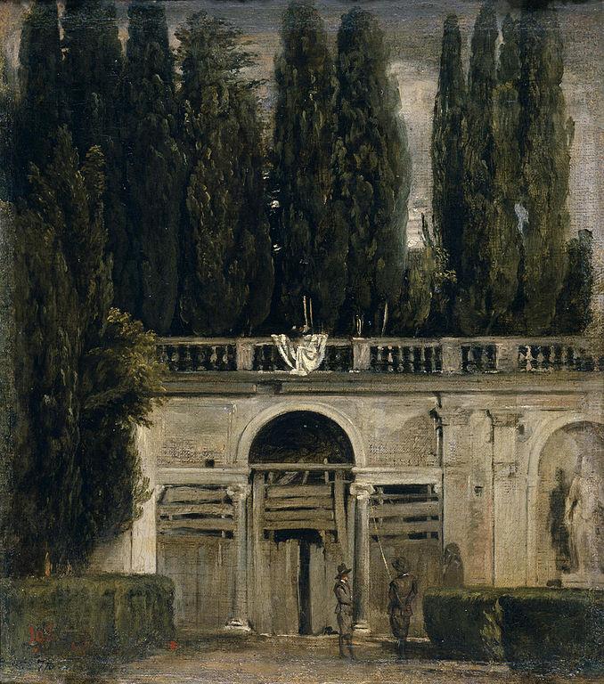 File vel zquez jard n de la villa m dicis en roma for Jardin villa medicis rome