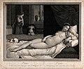 Venus (Aphrodite). Engraving by R. Strange, 1764 or 1768, af Wellcome V0036055.jpg