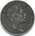 Vereinstaler Baden 1862 obverse.jpg