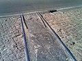 Vestígios de ramal ferroviário utilizado pela Fábrica de Papel em Salto - Trilhos cobertos pelo asfalto no início da rodovia Salto-Itu - panoramio.jpg