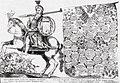 Višniavieckija, Pahonia. Вішнявецкія, Пагоня (J. Gorczyn, 1669).jpg