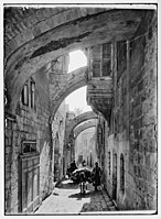Via Dolorosa. Fifth Station of the Cross. LOC matpc.05385.jpg