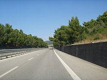 Strada extraurbana principale, la Variante Aurelia