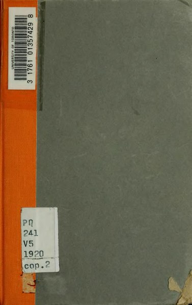 File:Vial - Denise - Idées et doctrines littéraires du XVIIe siècle, 1920.djvu