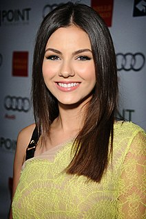 Victoria Justice American actress and singer