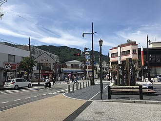 View in front of Dazaifu Station View in front of Dazaifu Station.jpg