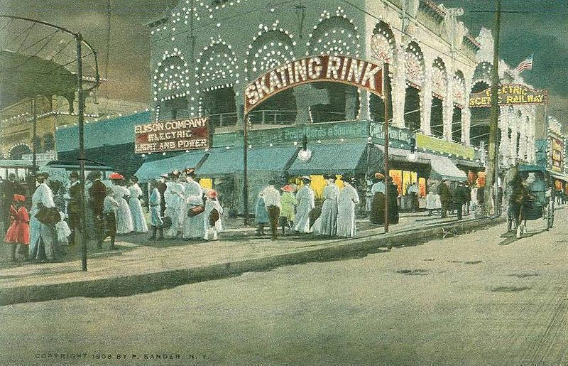 File:View of Surf Avenue, Coney Island, NY.jpg