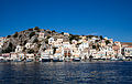 View of Symi settlement from its harbour.jpg