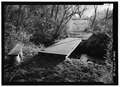 View of footbridge on north side of pond. - Hill-Stead, 35 Mountain Road, Farmington, Hartford County, CT HABS CT-472-18.tif