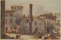 View of the Roman Forum with the Column of Phocas and the Temple of Saturn MET 61.124.1.jpg