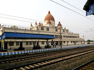 View of the joychandipahar railways station.jpg