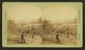 View of two people with saw mill in the background, by J. A. McColl.png