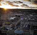 View over Bath from the top of the Abbey with the new Bath spa - panoramio.jpg