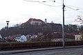 View to Špilberk from Husova avenue.jpg