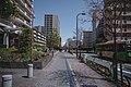 Views in April of 2019 around Minami Senju in Tokyo, Japan 05.jpg