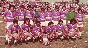 "Villa Dálmine - The 1975 squad that won another Primera C championship, scoring 113 goals. That team was nicknamed ""The Netherlands of the C"""