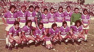 """Villa Dálmine - The 1975 squad that won another Primera C championship, scoring 113 goals. That team was nicknamed """"The Netherlands of the C"""""""