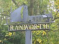 Village sign, Ranworth - geograph.org.uk - 1563104.jpg