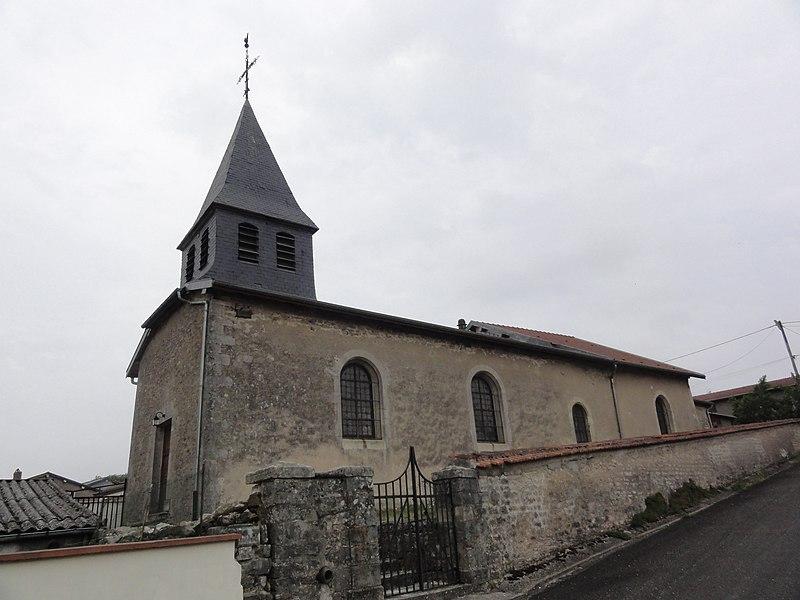 Ville-sur-Cousances (Meuse) église