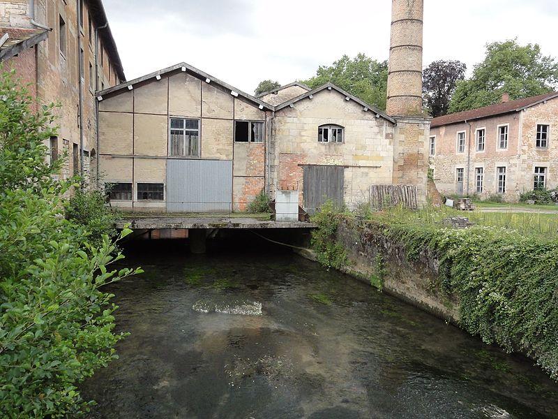 Ville-sur-Sault (Meuse) papeterie du château