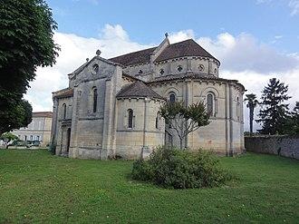 Villeneuve, Gironde - Image: Villeneuve (Gironde) église, chevet PA00083864