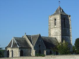 The church of Villers-au-Bois
