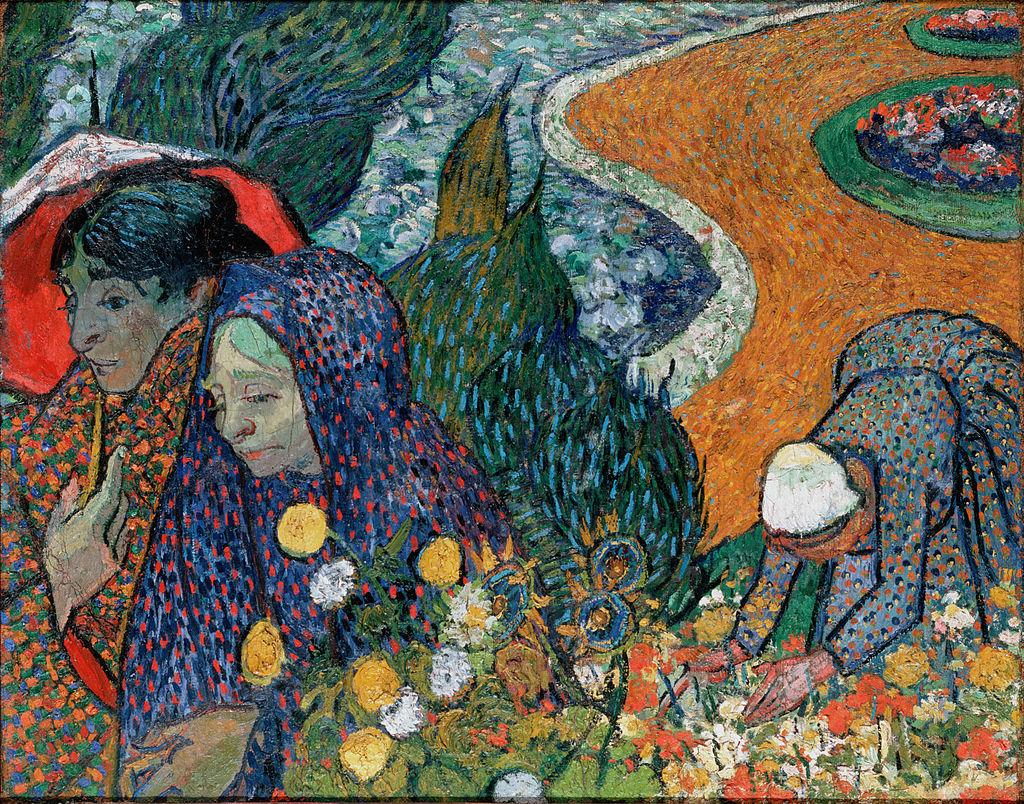 """Memory of the Garden at Etten"" by Vincent van Gogh"