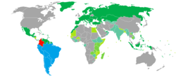 Visa requirements for Colombian citizens.png