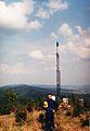 Vizovicke Vrchy, Komonec, pohled na Sehrad, 28.4.2000r.jpg