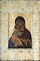 Vladimirskaya by A.Rublev (1395-1410s, Vladimir museum).jpg