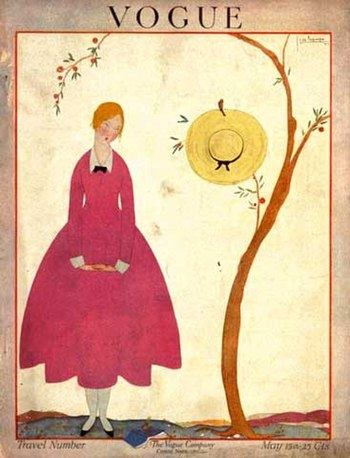 English: Vogue magazine cover, May 1917 Españo...