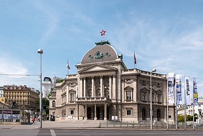 How to get to Volkstheater, Wien with public transit - About the place