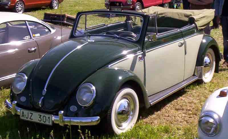 Volkswagen Typ 1 Cabriolet 1953
