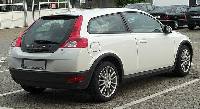 Volvo C30 1.6 rear 20100918