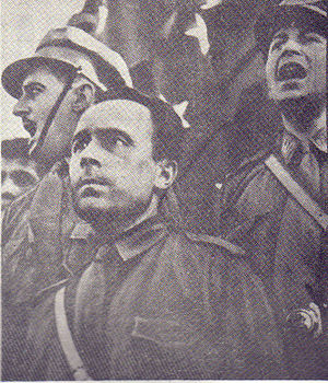 Jorge González von Marées - Jorge González von Marées in a Nazi-style uniform.