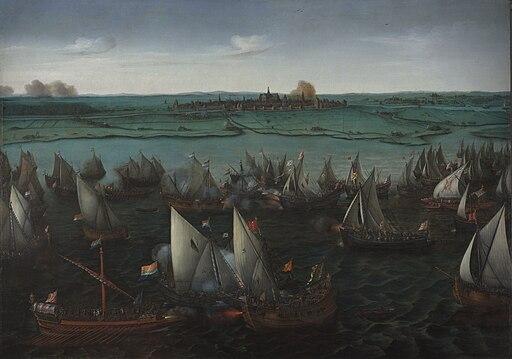 Vroom Hendrick Cornelisz Battle of Haarlemmermeer