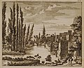 Vuë qui regarde vers le Pont par où l'on va à Tripoli (159) - Bruyn Cornelis De - 1714.jpg