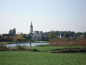 Saint-Sylvain-d'Anjou - Image: Vue saint sylvain anjou